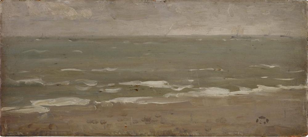 James Abbott McNeill Whistler, Deniz Manzarası II, Kanvas Tablo, James Abbott McNeill Whistler, kanvas tablo, canvas print sales