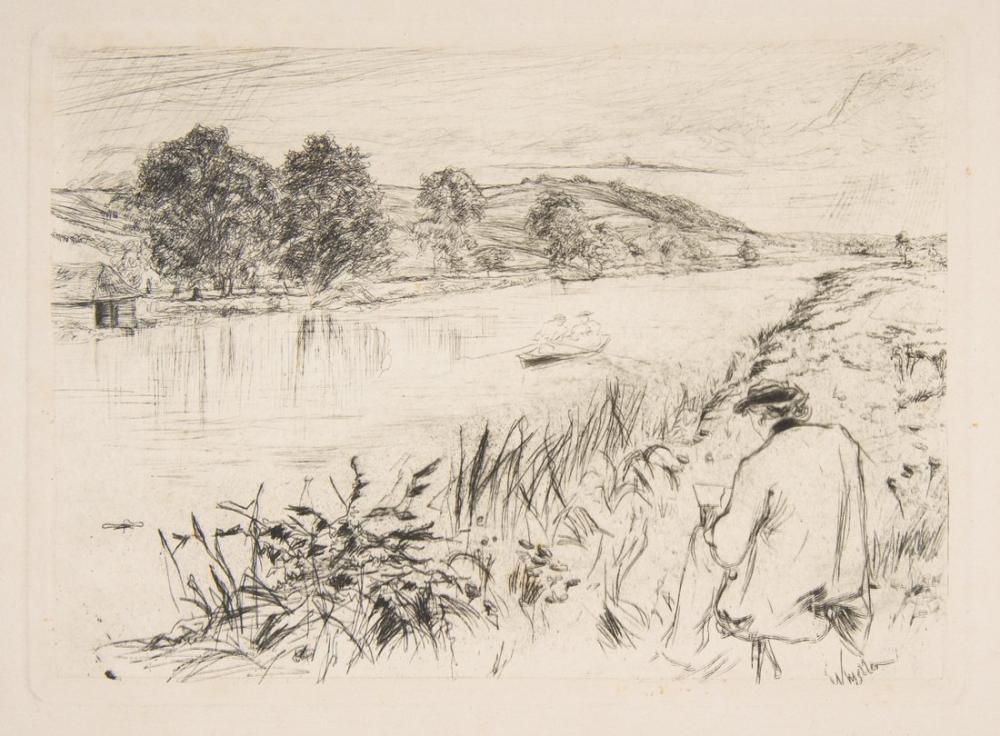 James Abbott McNeill Whistler, Eskiz, Kanvas Tablo, James Abbott McNeill Whistler, kanvas tablo, canvas print sales