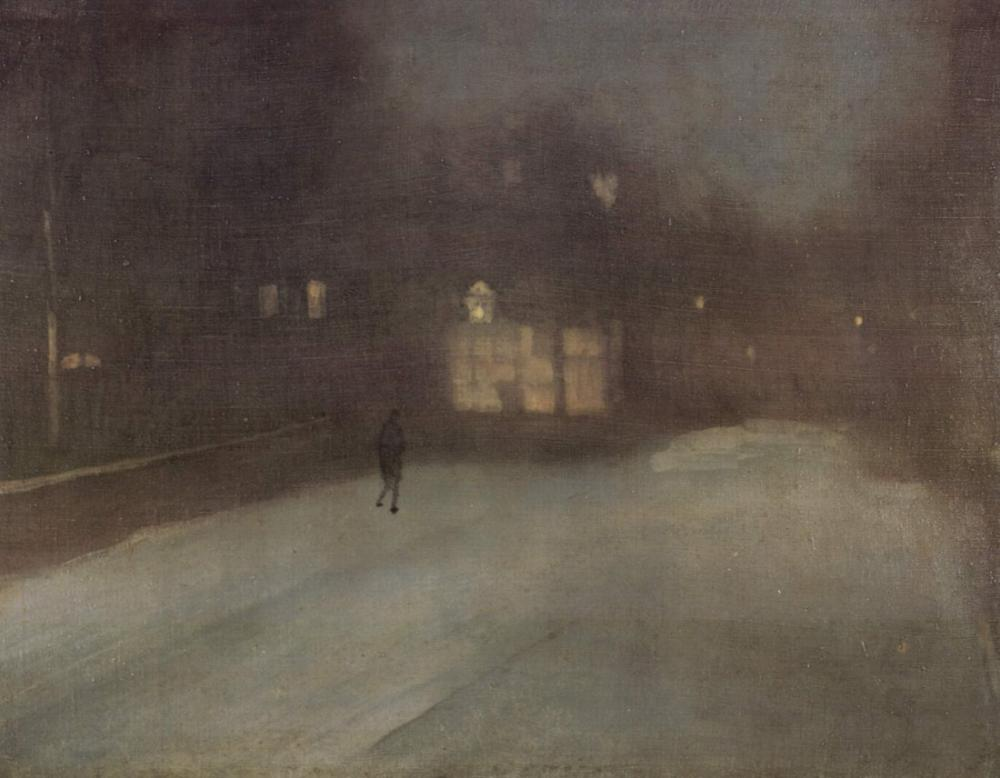 James Abbott McNeill Whistler, Kar, Kanvas Tablo, James Abbott McNeill Whistler, kanvas tablo, canvas print sales