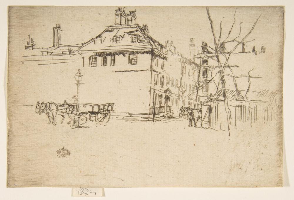 James Abbott McNeill Whistler, Tapınak, Kanvas Tablo, James Abbott McNeill Whistler, kanvas tablo, canvas print sales