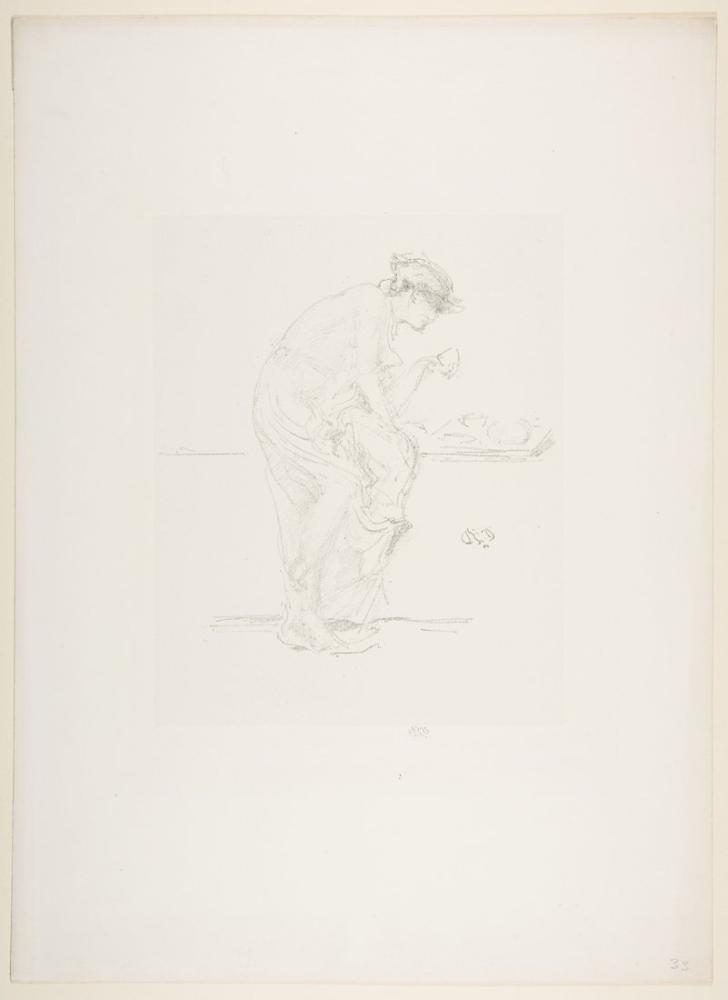 James Abbott McNeill Whistler, Burç, Figür, James Abbott McNeill Whistler, kanvas tablo, canvas print sales