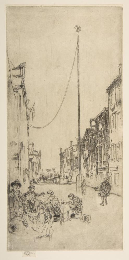 James Abbott McNeill Whistler, Venedik Direği, Figür, James Abbott McNeill Whistler, kanvas tablo, canvas print sales