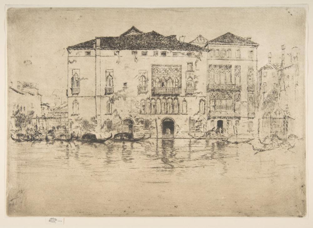 James Abbott McNeill Whistler, Saraylar, Kanvas Tablo, James Abbott McNeill Whistler, kanvas tablo, canvas print sales