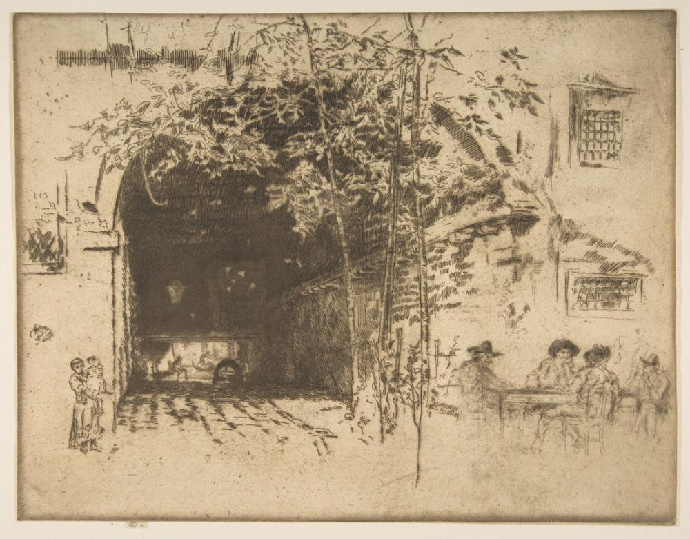 James Abbott McNeill Whistler, Feribot, Figür, James Abbott McNeill Whistler, kanvas tablo, canvas print sales