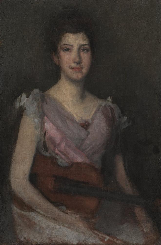 James Abbott McNeill Whistler, The Violin Player, Canvas, James Abbott McNeill Whistler, kanvas tablo, canvas print sales