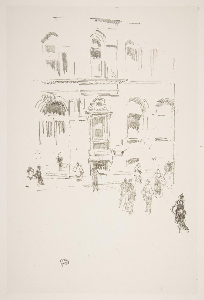 James Abbott McNeill Whistler, Victoria Kulübü, Figür, James Abbott McNeill Whistler, kanvas tablo, canvas print sales