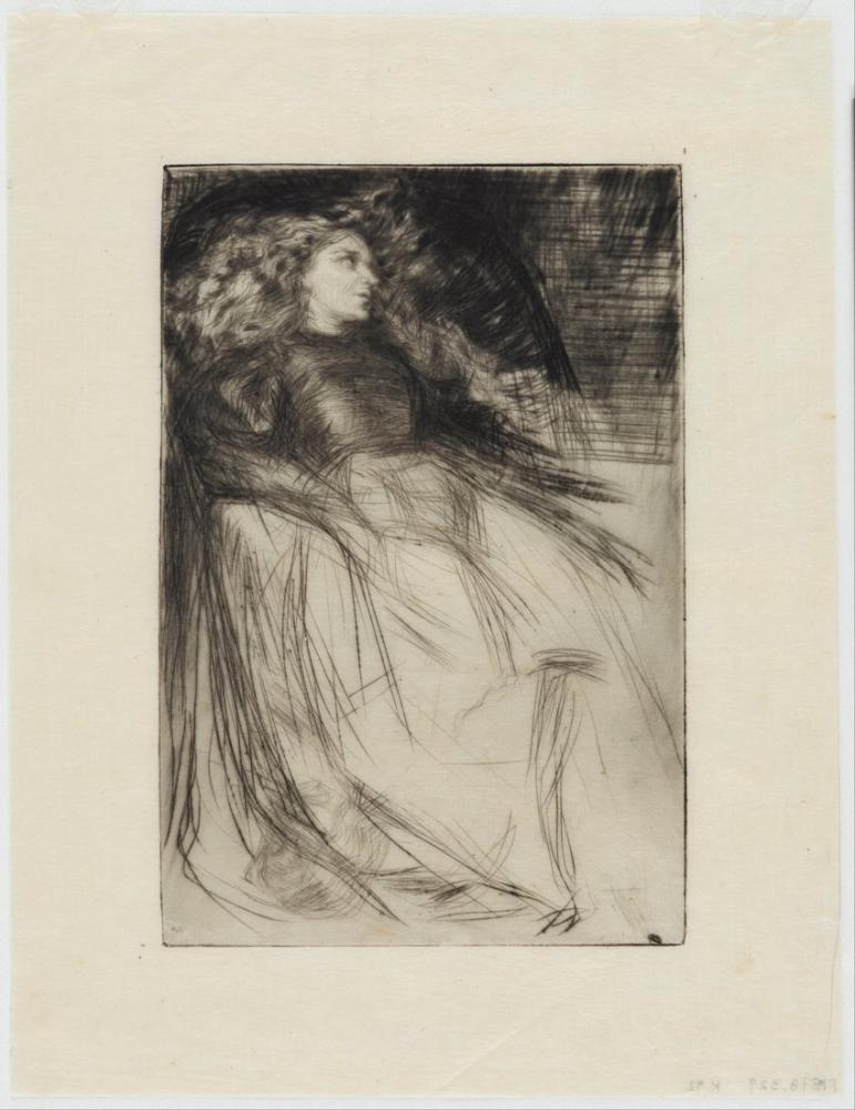 James Abbott McNeill Whistler, Weary, Figure, James Abbott McNeill Whistler, kanvas tablo, canvas print sales