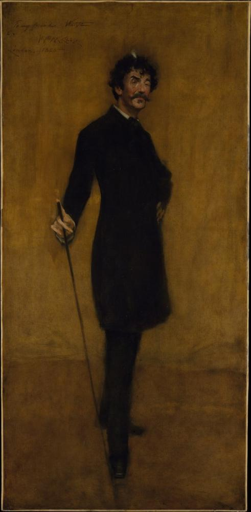 James Abbott McNeill Whistler, William Merritt Chase, Kanvas Tablo, James Abbott McNeill Whistler, kanvas tablo, canvas print sales