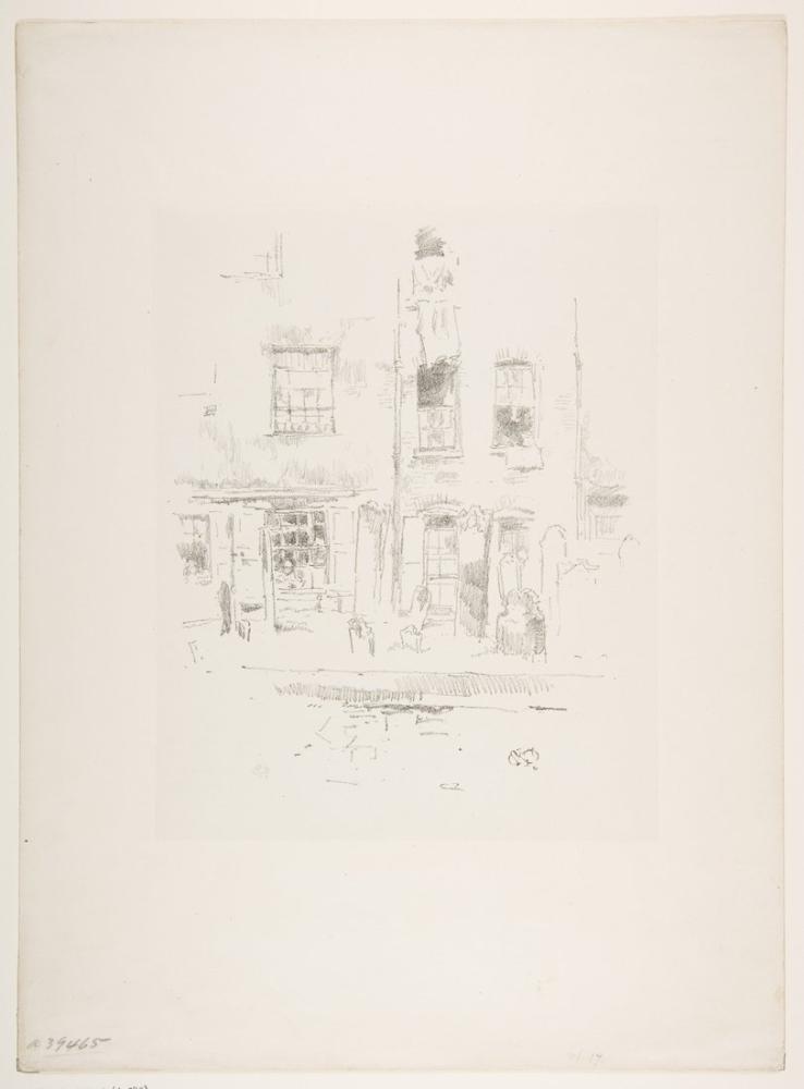 James Abbott McNeill Whistler, Churchyard, Canvas, James Abbott McNeill Whistler, kanvas tablo, canvas print sales