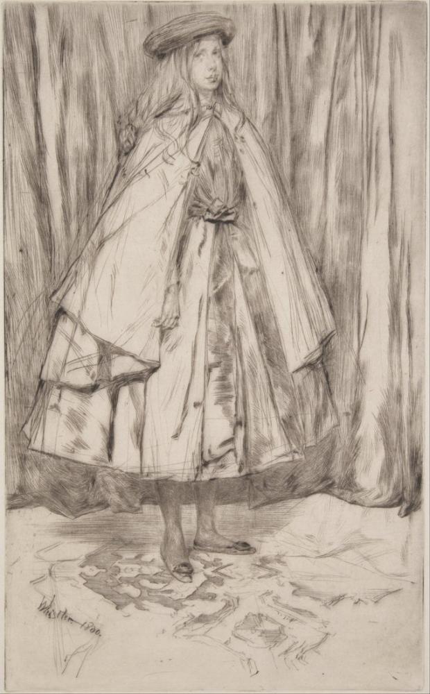 James Abbott McNeill Whistler, Annie Haden, Canvas, James Abbott McNeill Whistler, kanvas tablo, canvas print sales