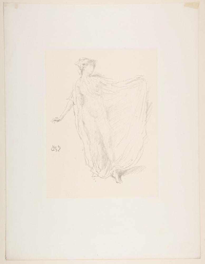 James Abbott McNeill Whistler, Dans Eden Kız, Figür, James Abbott McNeill Whistler, kanvas tablo, canvas print sales