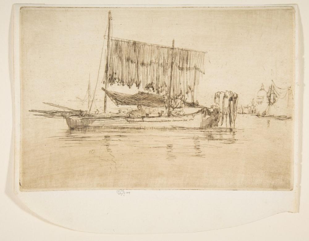 James Abbott McNeill Whistler, Balıkçı Teknesi, Kanvas Tablo, James Abbott McNeill Whistler, kanvas tablo, canvas print sales