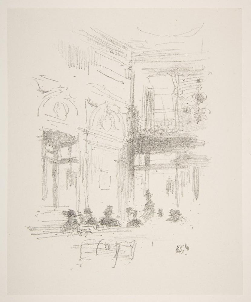 James Abbott McNeill Whistler, Gatti s, Canvas, James Abbott McNeill Whistler, kanvas tablo, canvas print sales