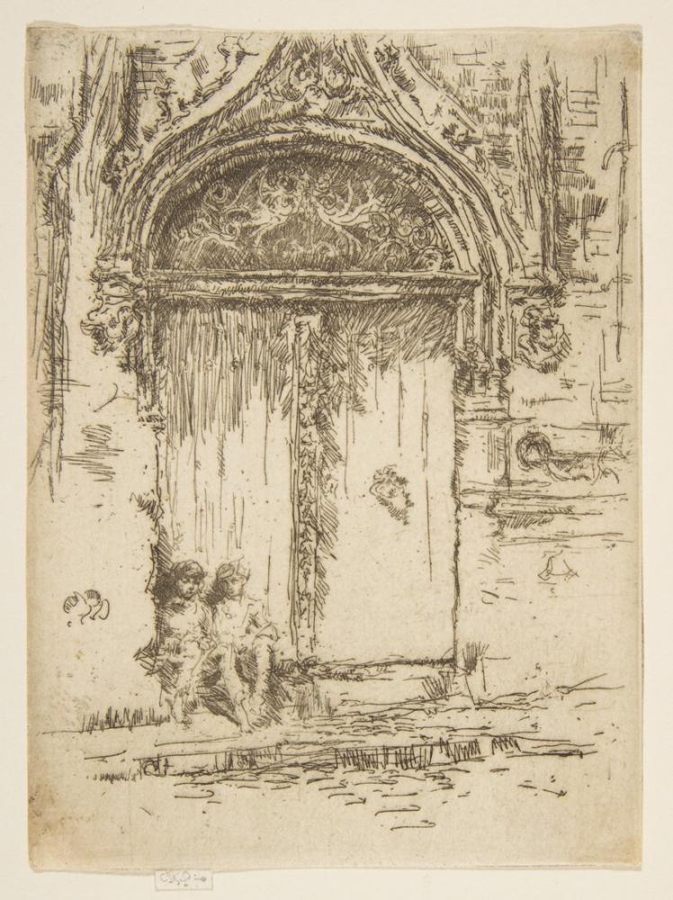 James Abbott McNeill Whistler, Hangman ın Evi Turları, Figür, James Abbott McNeill Whistler, kanvas tablo, canvas print sales