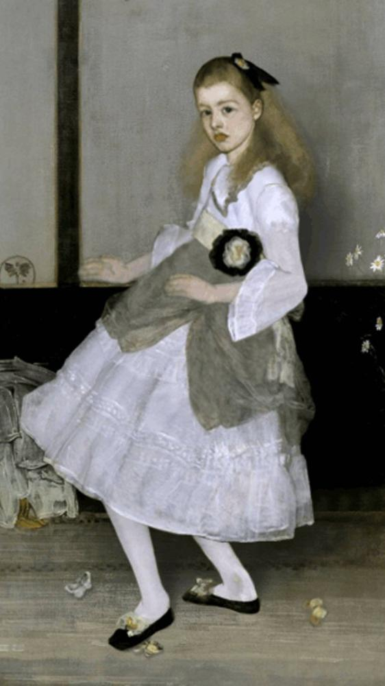 James Abbott McNeill Whistler, Bayan Cicely Alexander, Kanvas Tablo, James Abbott McNeill Whistler, kanvas tablo, canvas print sales