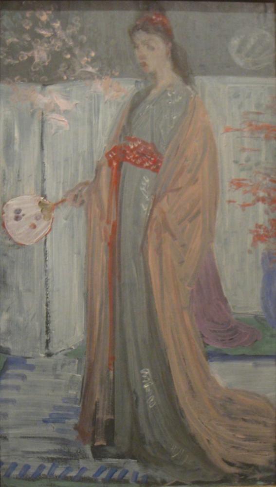 James Abbott McNeill Whistler, Çin Toprakları Prensesi, Figür, James Abbott McNeill Whistler, kanvas tablo, canvas print sales