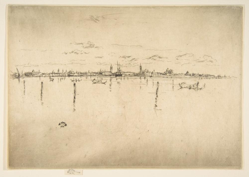 James Abbott McNeill Whistler, Küçük Venedik, Kanvas Tablo, James Abbott McNeill Whistler, kanvas tablo, canvas print sales