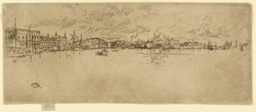 James Abbott McNeill Whistler, Long Venice, Canvas, James Abbott McNeill Whistler, kanvas tablo, canvas print sales