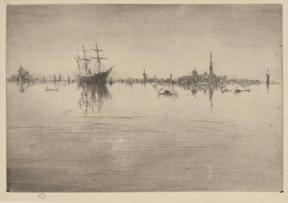 James Abbott McNeill Whistler, Nocturne, Canvas, James Abbott McNeill Whistler, kanvas tablo, canvas print sales