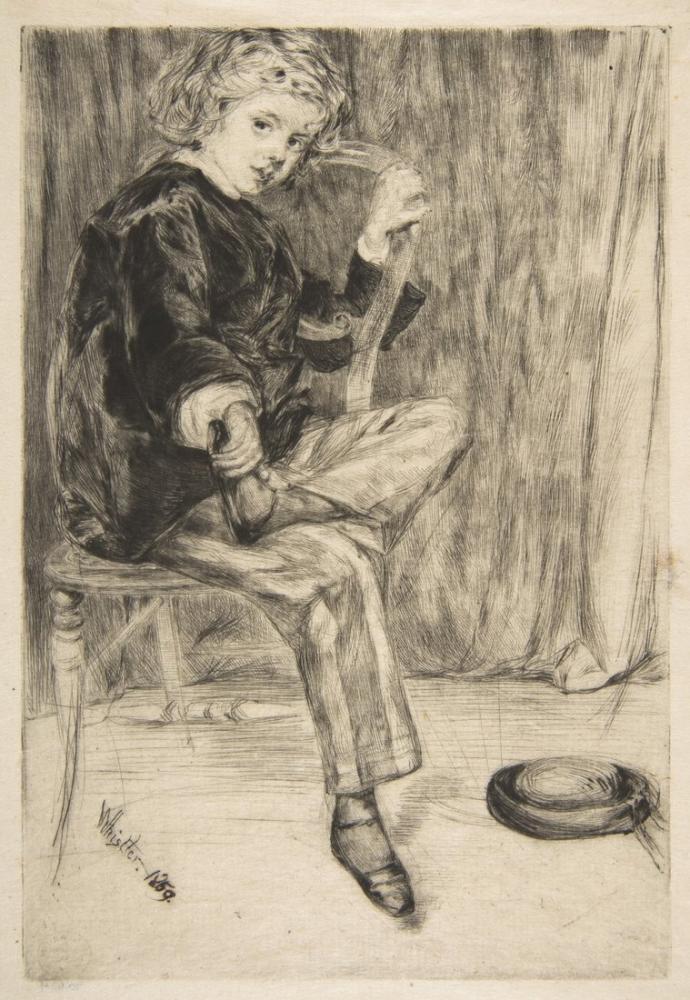 James Abbott McNeill Whistler, Arthur Haden, Canvas, James Abbott McNeill Whistler, kanvas tablo, canvas print sales