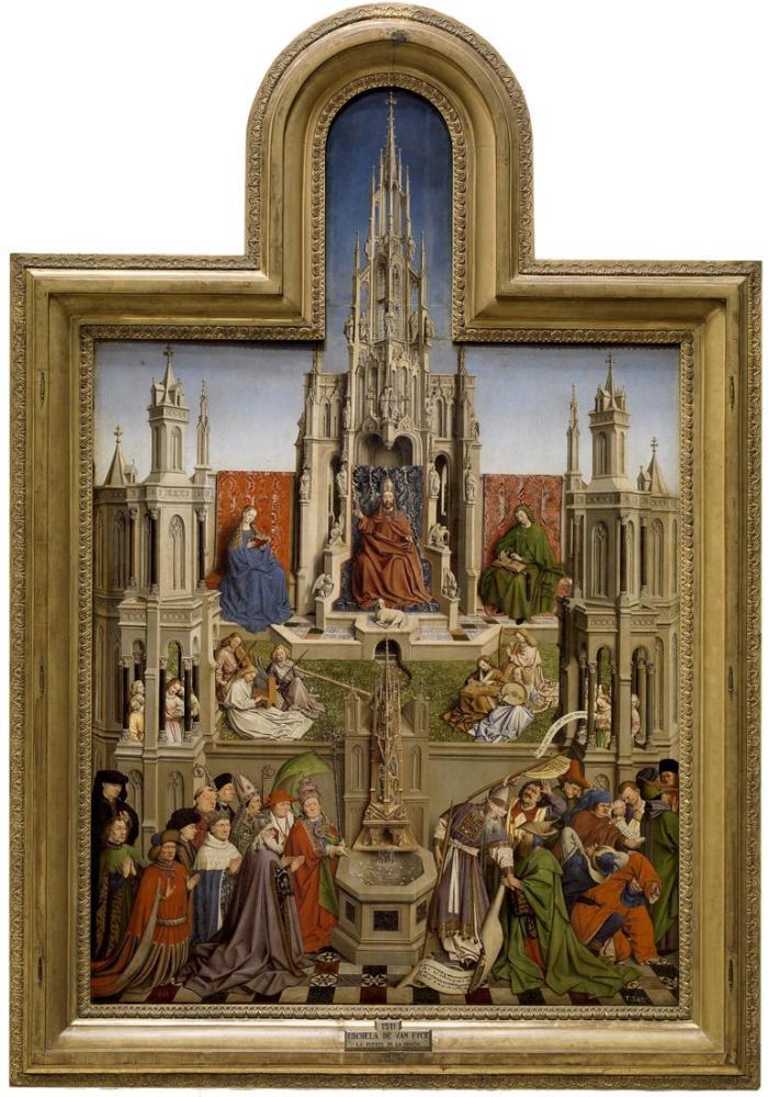 Jan van Eyck Hayat Çeşmesi, Kanvas Tablo, Jan van Eyck, kanvas tablo, canvas print sales