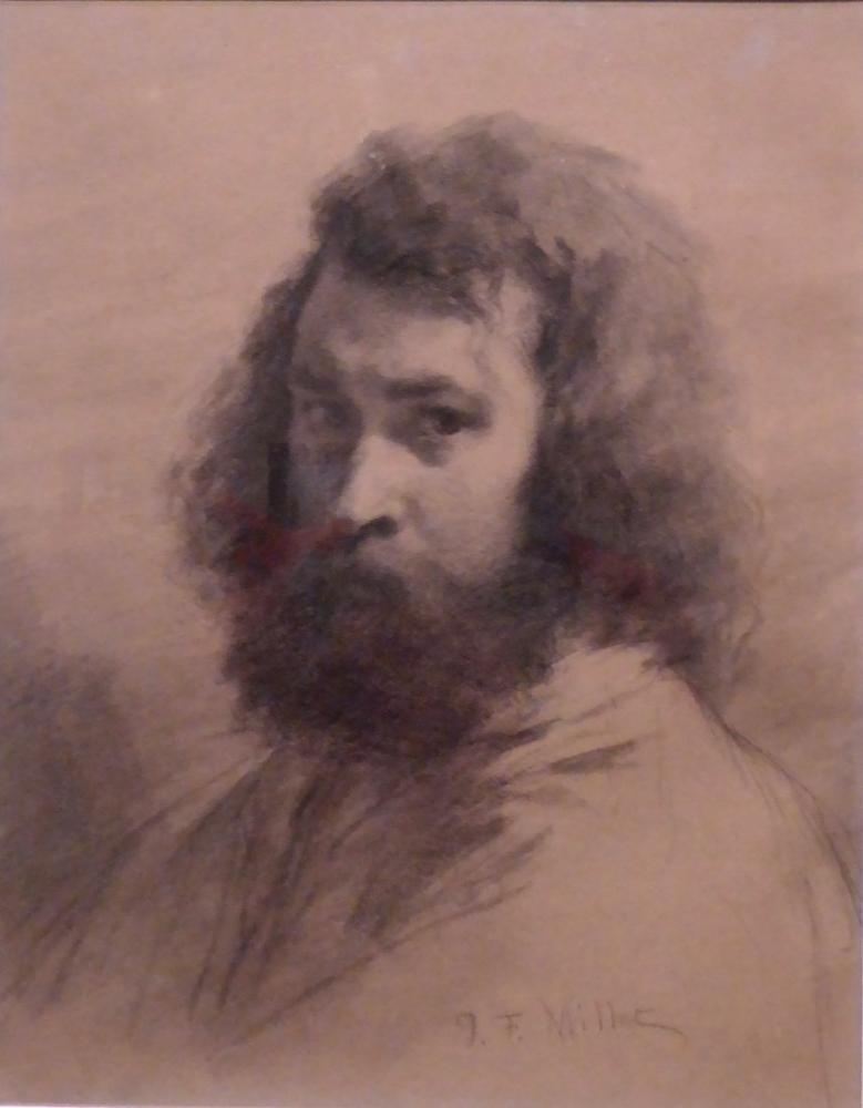 Jean François Millet Portrait, Canvas, Jean François Millet, kanvas tablo, canvas print sales