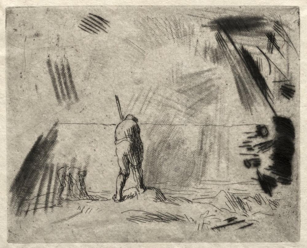Jean François Millet Yosun Toplayıcıları, Kanvas Tablo, Jean François Millet, kanvas tablo, canvas print sales