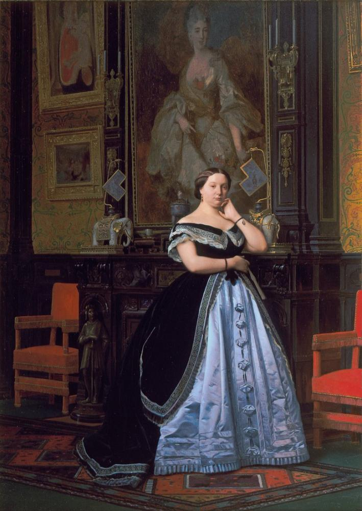 Jean Leon Gerome Charlotte Rothschild, Kanvas Tablo, Jean-Léon Gérôme, kanvas tablo, canvas print sales