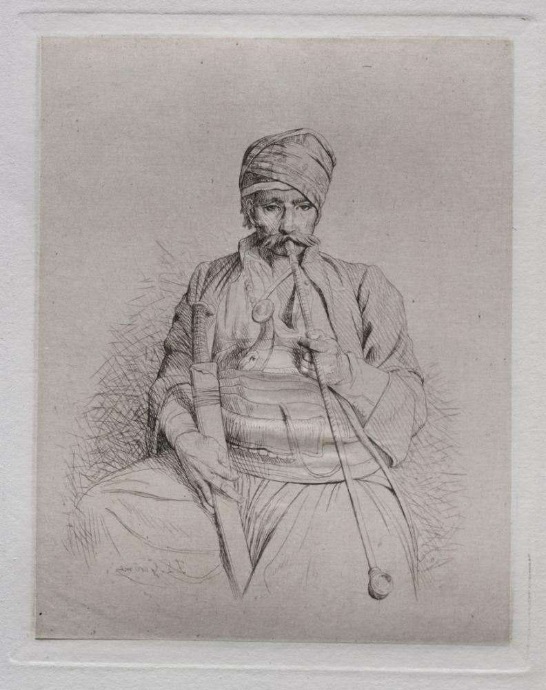 Jean Leon Gerome A Skecth, Orientalism, Jean-Léon Gérôme, kanvas tablo, canvas print sales