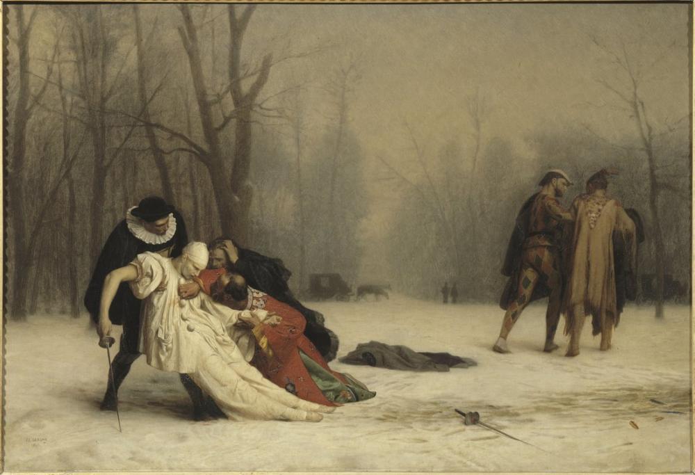 Jean Leon Gerome Suites Of A Masked Ball, Canvas, Jean-Léon Gérôme, kanvas tablo, canvas print sales