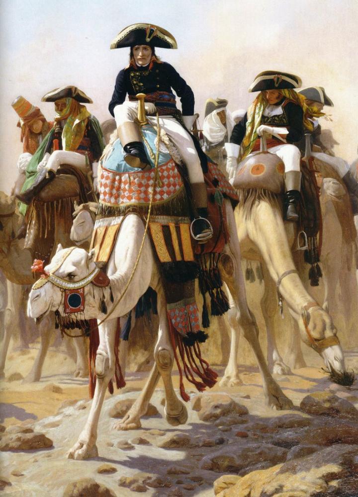 Jean Leon Gerome Bonaparte En Egypte, Orientalism, Jean-Léon Gérôme, kanvas tablo, canvas print sales