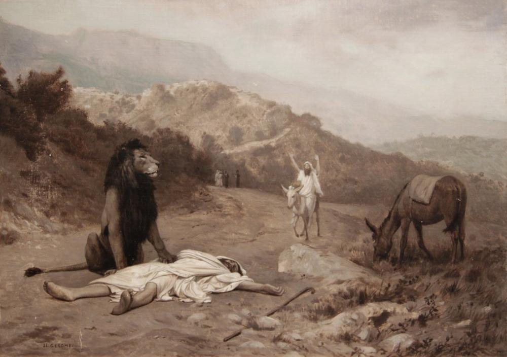 Jean Leon Gerome İtaatsizlik Peygamber, Oryantalizm, Jean-Léon Gérôme, kanvas tablo, canvas print sales