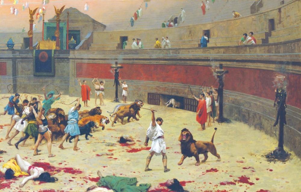 Jean Leon Gerome Kedigillerin Dönüşü, Kanvas Tablo, Jean-Léon Gérôme, kanvas tablo, canvas print sales