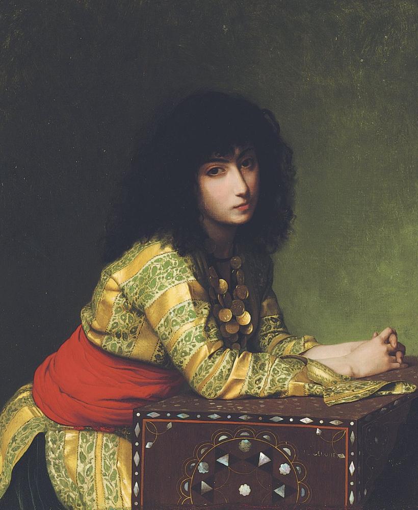 Jean Leon Gerome Fransız, Oryantalizm, Jean-Léon Gérôme, kanvas tablo, canvas print sales