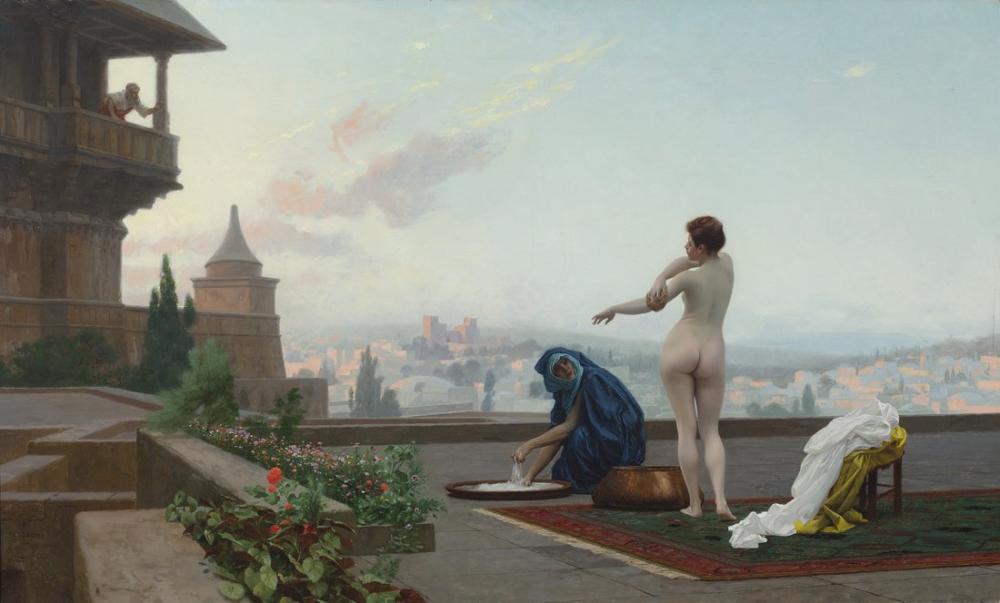 Jean Leon Gerome Bethsabee, Orientalism, Jean-Léon Gérôme, kanvas tablo, canvas print sales