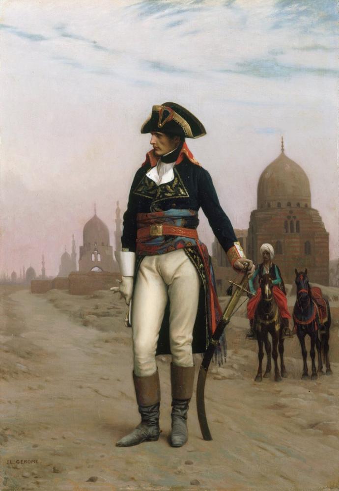 Jean Leon Gerome Napoleon In Egypt, Orientalism, Jean-Léon Gérôme, kanvas tablo, canvas print sales