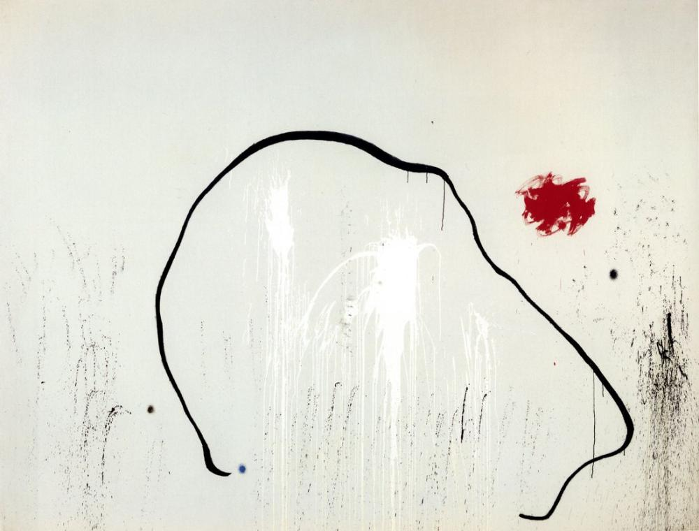 Joan Miro Lanetlenmiş Bir Adamın Umudu, Figür, Joan Miro, kanvas tablo, canvas print sales