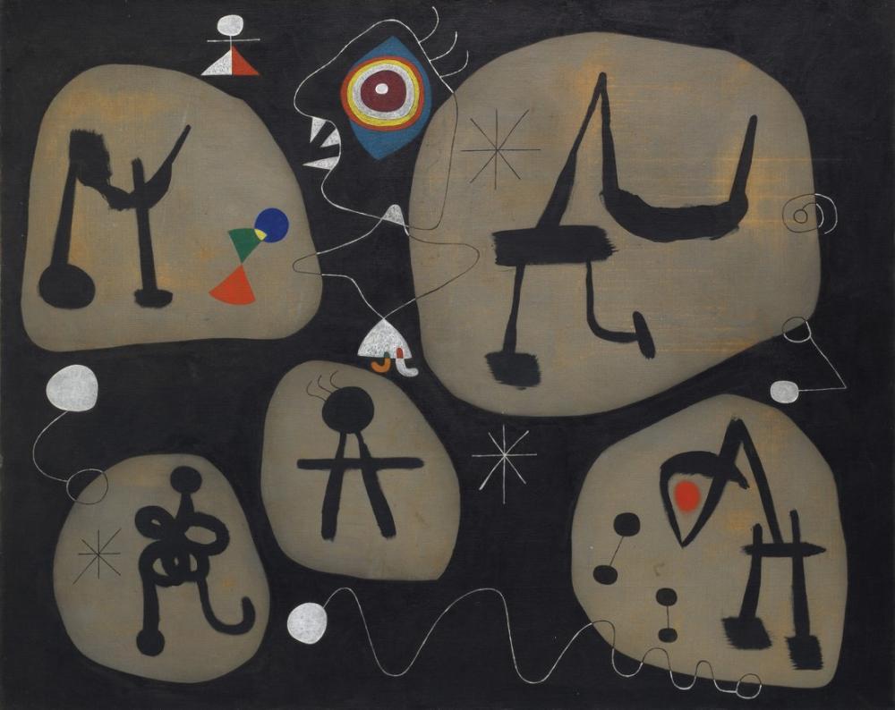 Joan Miro Müzik, Figür, Joan Miro, kanvas tablo, canvas print sales