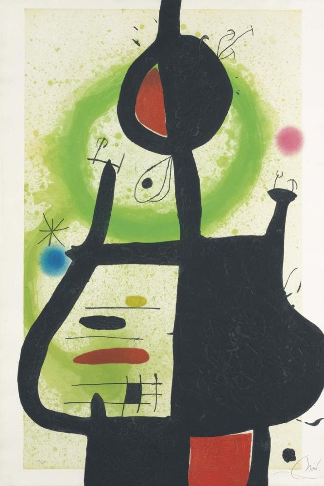 Joan Miro La Sorciere, Figure, Joan Miro, kanvas tablo, canvas print sales