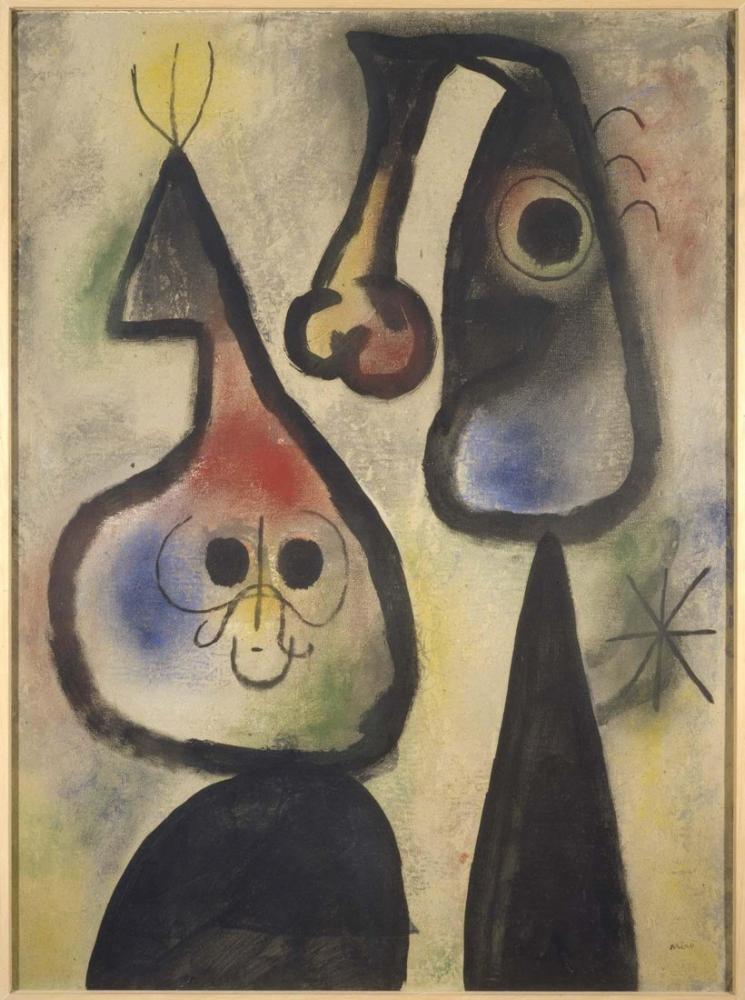 Joan Miro Barcelona, Figure, Joan Miro, kanvas tablo, canvas print sales