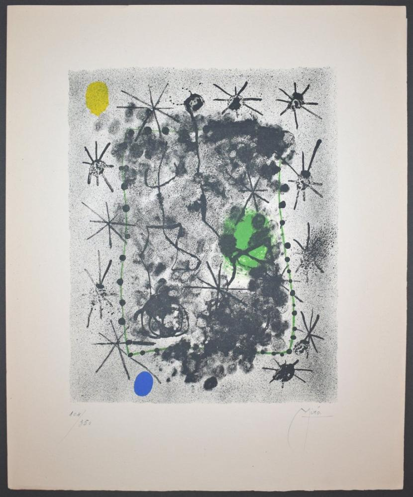 Joan Miro Litho II, Figür, Joan Miro, kanvas tablo, canvas print sales