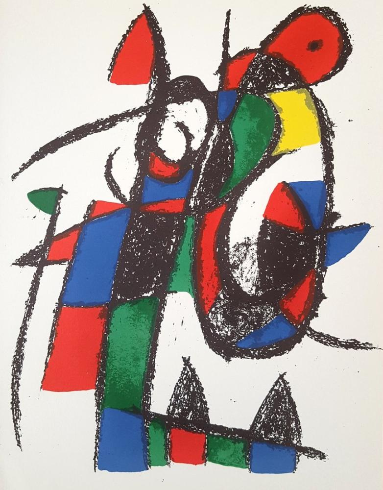 Joan Miro Lithographs Vol II, Figure, Joan Miro, kanvas tablo, canvas print sales