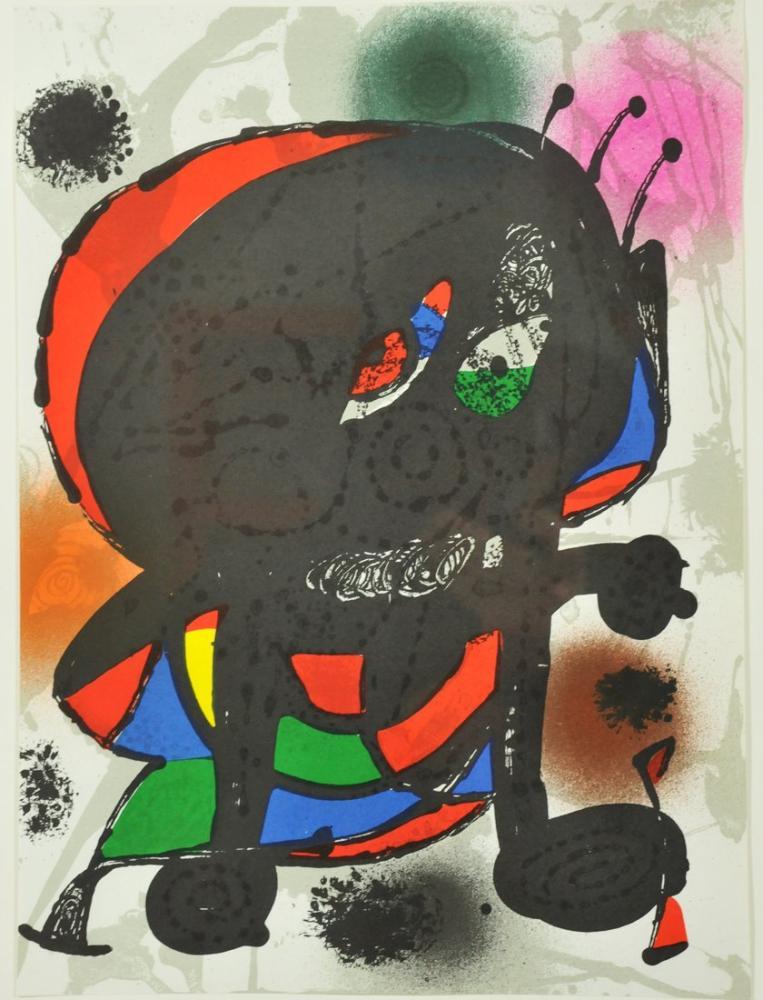 Joan Miro Orijinal Litografi III, Figür, Joan Miro, kanvas tablo, canvas print sales
