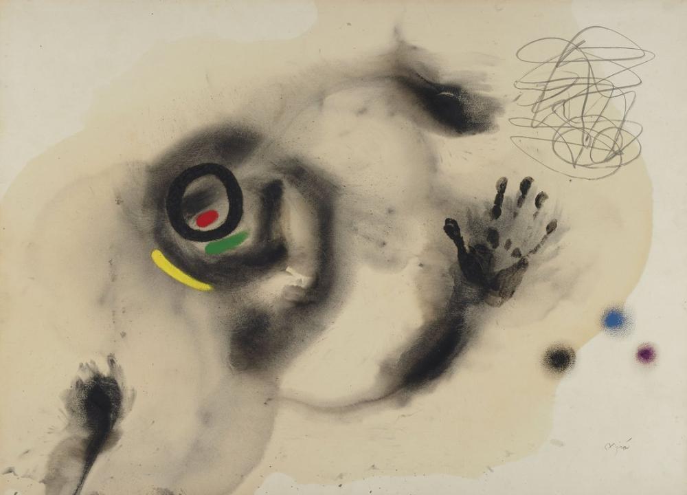 Joan Miro Gazelle Of The Beautiful Horizon, Figure, Joan Miro, kanvas tablo, canvas print sales