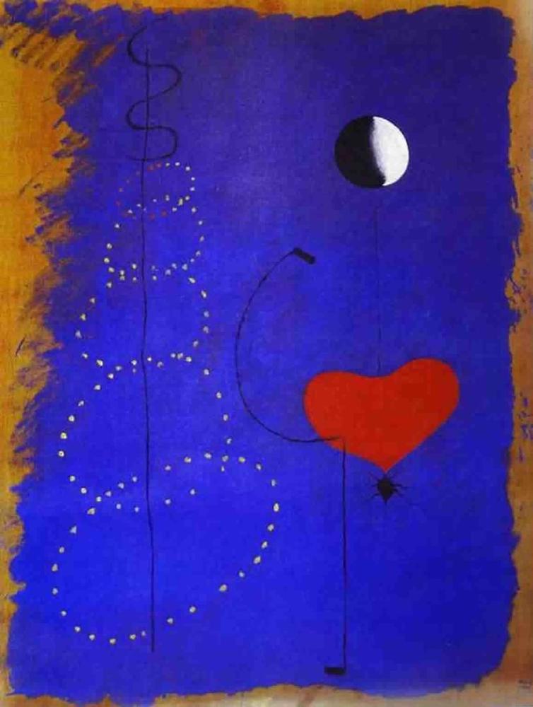 Joan Miro Dansçı, Figür, Joan Miro, kanvas tablo, canvas print sales