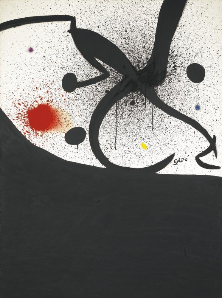 Joan Miro Kuş Böcek Takımyıldız, Figür, Joan Miro, kanvas tablo, canvas print sales