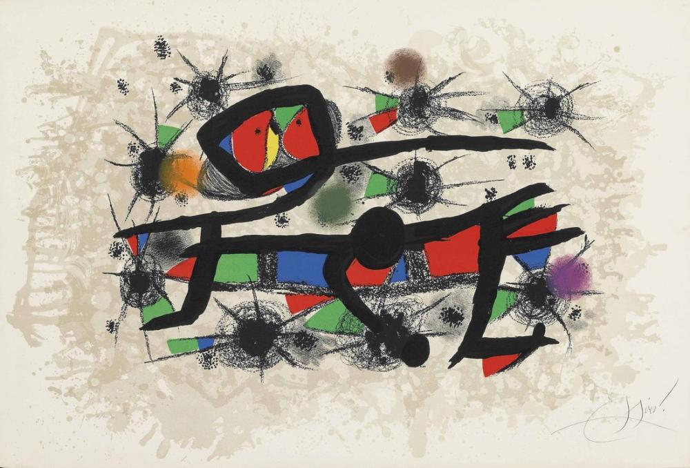 Joan Miro Resim Şiiri, Figür, Joan Miro, kanvas tablo, canvas print sales