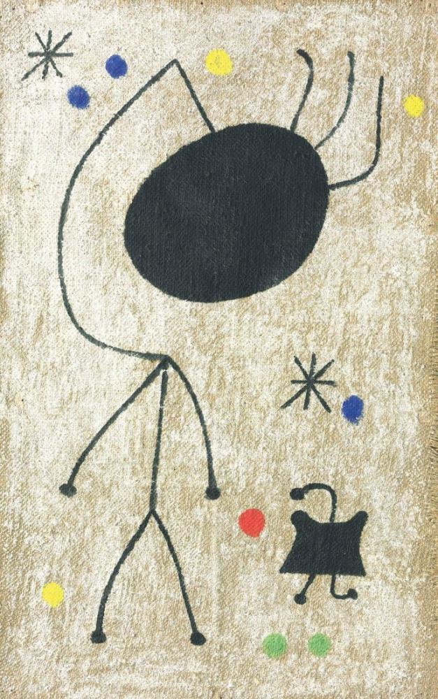 Joan Miro Gecenin Karakterleri, Figür, Joan Miro, kanvas tablo, canvas print sales