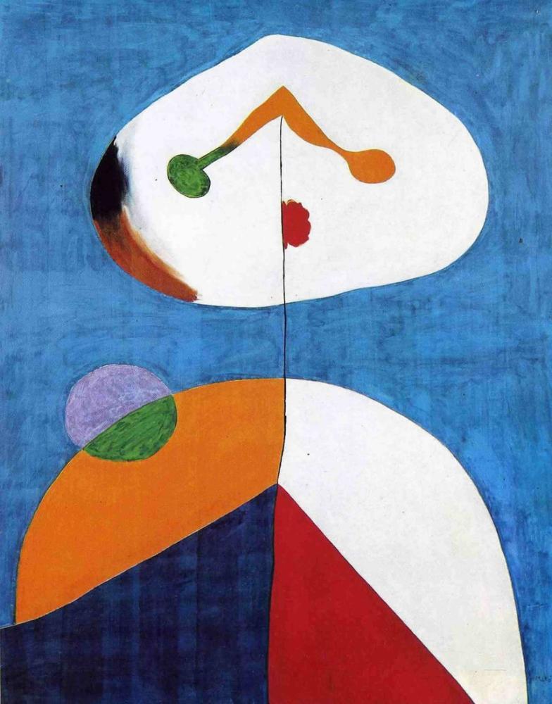Joan Miro Portre II, Figür, Joan Miro, kanvas tablo, canvas print sales