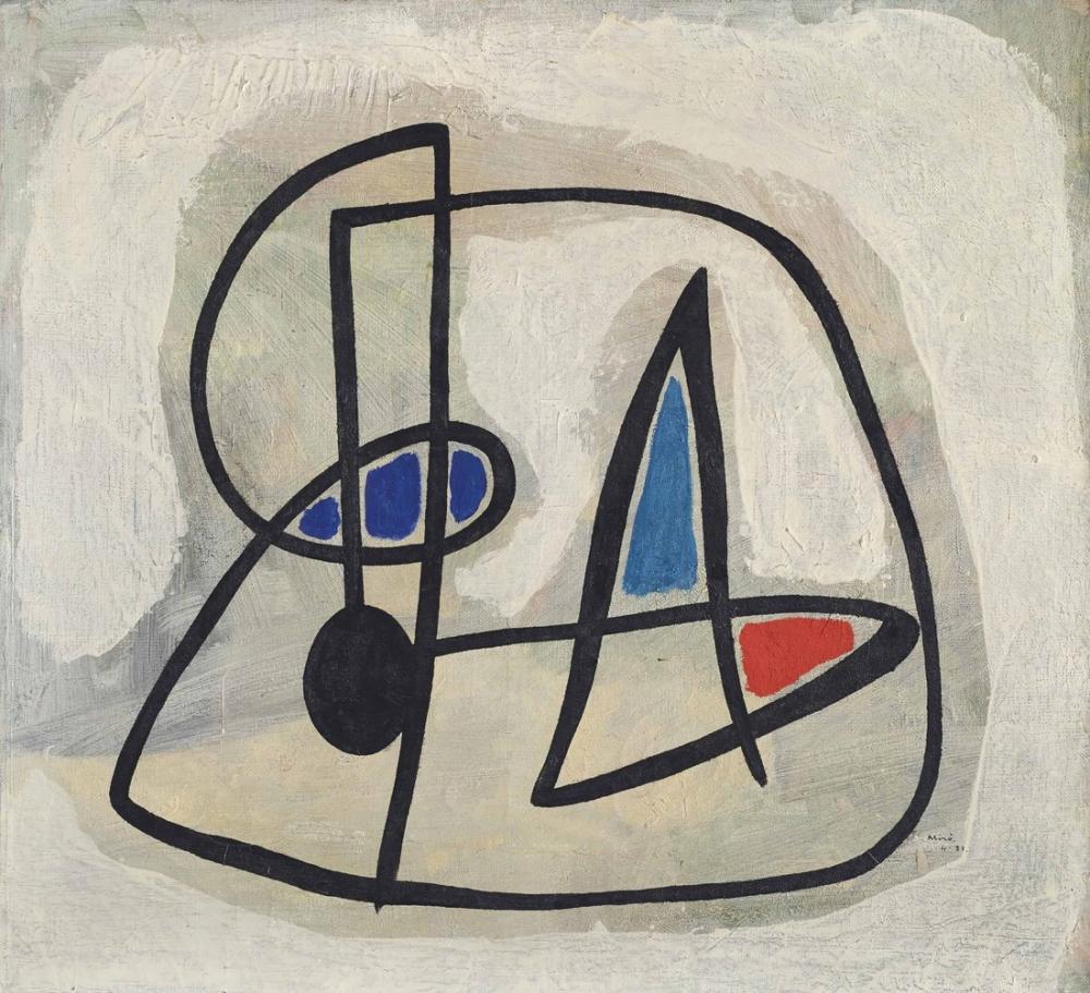 Joan Miro İnsan Başı, Figür, Joan Miro, kanvas tablo, canvas print sales